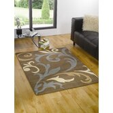 Vitality Duchess Brown / Blue Contemporary Rug