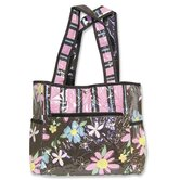 Blossoms Tulip Diaper Tote Bag
