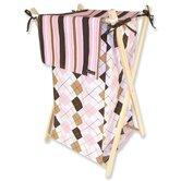 Prep School Pink Hamper Set with Frame