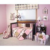 Prep School Pink Crib Bedding Collection