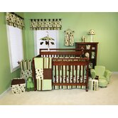 Giggles Four Piece Crib Bedding Set