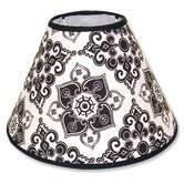 Versailles Black and White Lamp Shade