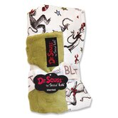 Dr. Seuss Cat in the Hat Hat Receiving Blanket in Green
