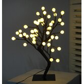 Desktop Ball Tree with 48 Piece Warm White LED Lights