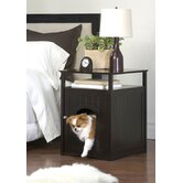 Night Stand Pet House in Espresso