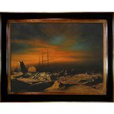 Panther Among Icebergs in Melville Bay Canvas Art by William Bradford Nautical