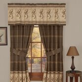 Buckmark Valance in Brown