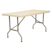 72&quot; x 30&quot; Blow-Molded Folding Table