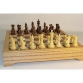 Sheesham British with Chest Chess Set