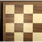 "12"" Walnut / Maple Veneer Chess Board"