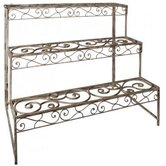 Aged Metal Etagere