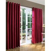 Weathermate Solid Insulated Color Grommet Top Curtain