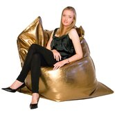 "165cm Sitzsack ""Basic"" in Gold"
