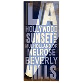 La Hollywood Transit Wood Sign