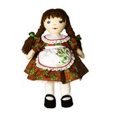 Christmas Kathy Doll in Jim Shore Designed Dress