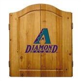 MLB Team Logo Complete Dart Cabinet Set