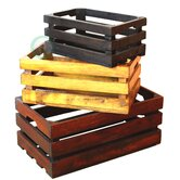 Decorative Crate (Set of 3)