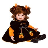 "Adora ""Jolly Jack-o-Lantern"" Doll with Red Hair / Brown Eyes"