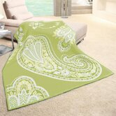 angelo:HOME Paisley Acrylic-Cotton Throw