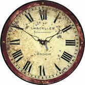 Antique London Clockmaker's Dial Wall Clock