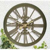 Rustic Outdoor Clock