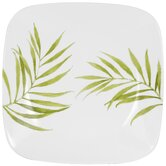 Square Bamboo Leaf 10.25&quot; Dinner Plate
