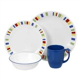 Livingware Memphis 16 Piece Dinnerware Set