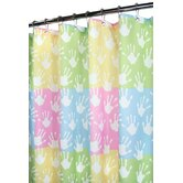 World Hands Shower Curtain