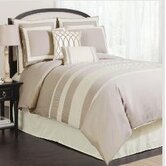 Charming Sand 8 Piece Comforter Set