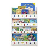 The Tidy Books Childrens Bookcase (White Lowercase)