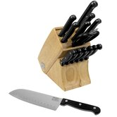 Essentials 15 Piece Cutlery Block Set