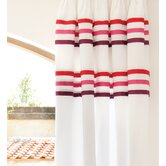 Auvergne Curtain in Red
