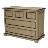 Taylor Cottage Changer Dresser with Straight Apron