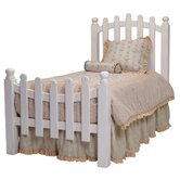 Taylor Cottage Picket Fence Bed