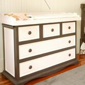 Taylor Cottage Changer Dresser with Curved Apron