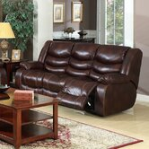 Rampart Polished Reclining Sofa