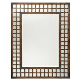 Sophia Rectangle Metal Mirror