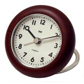 Landmark Rondo Wooden Travel Alarm Clock
