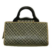 Wave Pandanus Satchel Bag