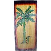 Banana Tree Scene Curtain