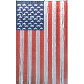 American Flag Curtain