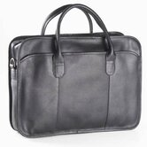 Vachetta Classic Top Handle Briefcase in Black
