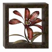 Cosmopolitian Flower Metal Wall D&eacute;cor