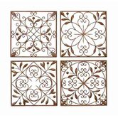 Toscana Metal Wall Décor (Set of 4)