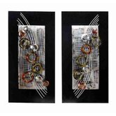 Loft Amazed Metal Wall Décor (Set of 2)
