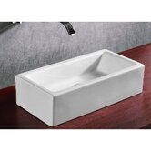 "9.65"" X 5.12"" Rectangular Bathroom Sink"