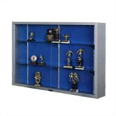 Imperial Display Case with Designer Fabric
