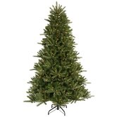Vermont Instant Shape 6.5' Artificial Christmas Tree with Clear Lights