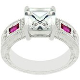 Cubic Zirconia Fancy Ring