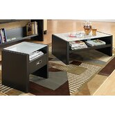 New York Skyline 3 Piece Coffee Table Set